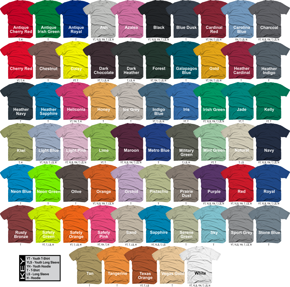 Gildan T Shirt Colors 28 Images Gildan G500 S Standard Cut 5 3 Oz Ultra Cotton T Joe S Usa